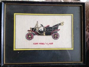 Vintage Cars Cross Stitch Pictures Kingston Kingston Area image 2