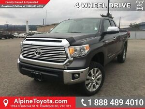 2014 Toyota Tundra LIMITED   Navigation, lift kit, A/T tires, le