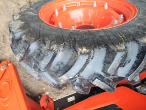 Farm Tractor tires, only 500 hours, like new