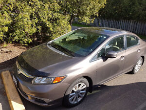 2012 Honda Civic EX  Bluetooth, Sunroof,Extended Warranty
