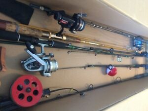 FISHING GEAR  :  COMPLETE  PKG !