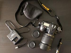 Nikon D7100 + lens AF-S DX NIKKOR 18-105mm f/3.5-5.6G ED VR