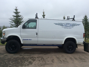 2013 Ford E-250 4x4 Clydesdale custom van