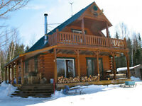 Outdoorsman Dream Cottage / Chalet de rêve