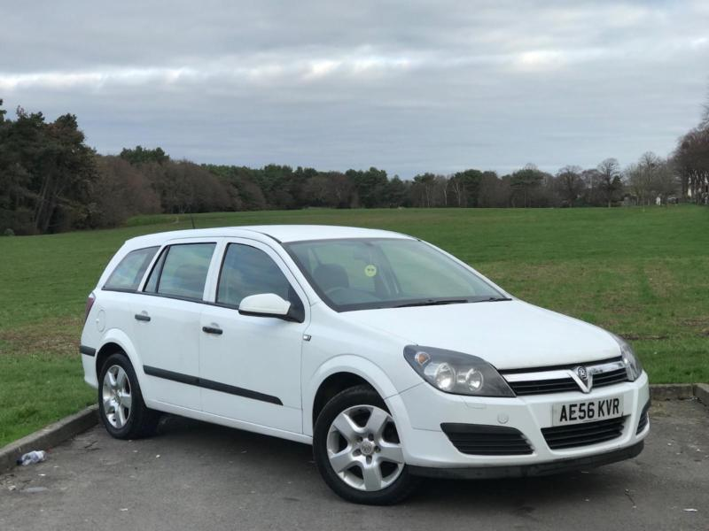 2006 VAUXHALL ASTRA ESTATE DIESEL MANUAL 1.7 CDTI LONG MOT ...