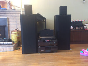 Turntable 5.1 a/v surround sound