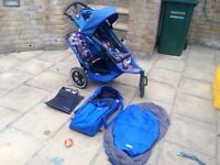 Bill and teds double buggy