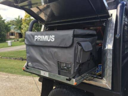 12v / 240v Fridge. 65L Primus Mammoth + Slide + Bag