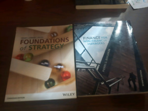 Second year nscc business administration books for sale