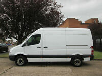 2010 60-REG Mercedes-Benz Sprinter 2.1TD 313CDI MWB HIGH ROOF. FINANCE £149 P/M