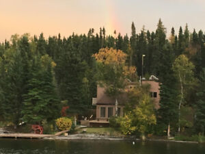 CABIN on LAKEFRONT