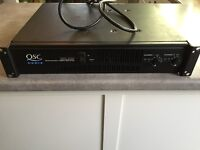 QSC amp, ART Power Station, Community Monitor speakers & cables