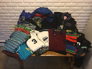 Variety of brand name men's clothing small-large