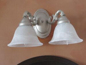 VANITY LAMPS  PEWTER METALLIC