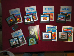 18 Atari 5200 Games London Ontario image 1