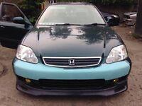 Honda Civic ferio sedan JDM import! Ultra Rare! Not ek,em1,eg,eg6,ek4,Vti,vtis,type r,b16,b18