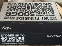 Sky HD tv box