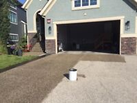 *There is still time before winter** Aggregate Driveway Sealing