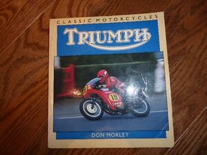 TRIUMPH MOTORCYCLE BOOKS - INDIVIDUALLY PRICED Kitchener / Waterloo Kitchener Area image 8