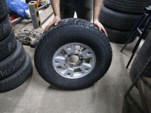 Winter Tires and Mags - 265/75/R15 - 6 Bolt