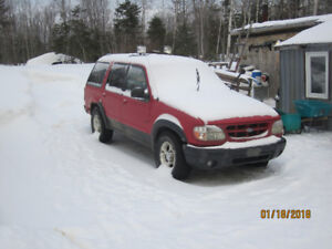 1999 Ford Explorer SUV, Crossover (Not On Road)