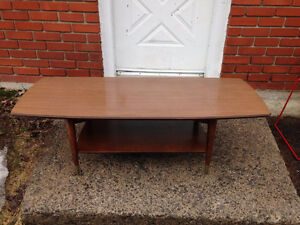 Table Basse Salon Mid Century Vintage