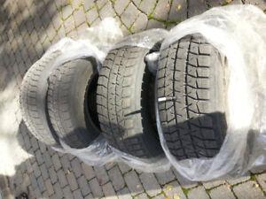 Pneus d'hiver Bridgestone Blizzak WS-80 205/65R15 avec jantes