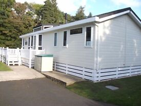 2008 Willerby New Jersey Lodge 40 x 16ft 2 Bed For Sale On Riverside Rothbury