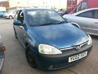 Vauxhall Corsa 1.2i 16v SXi 3 DOOR - 2002 02-REG - 9 MONTHS MOT