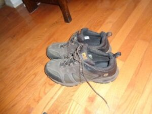New and slightly used work boots