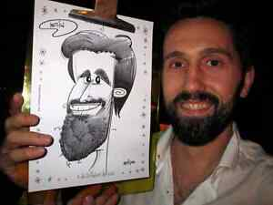 the wedding caricature  show West Island Greater Montréal image 7