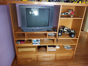 Custom Built Entertainment Cabinet $500 ***reduced***