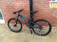 Trek fuel ex 7 (2015) Men's full suspension mountain bike.