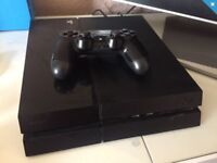 PS4 console only and few games