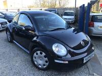✿56-Reg Volkswagen Beetle 1.9 TDI 3dr, Black ✿DIESEL ✿NICE EXAMPLE✿