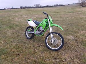 Kawasaki KLX300R, great all-around bike, runs great