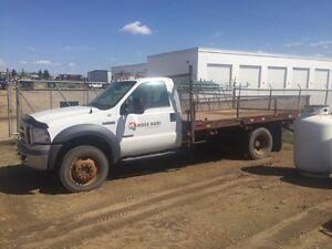 Parts truck, F-550, 5 speed 4x4