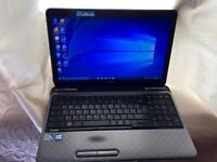 6GB fast like new Toshiba satellite HD laptop massive 500GB, window10,Microsoft office,ready to use