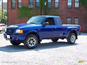 WANTED: Blue 2007 Ford Ranger Pickup Truck with Low KMs