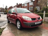 Renault Grand Scenic 7 seater--Service history--parking aid-T/belt done