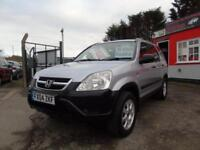 2004 Honda CR V 2.0 i VTEC SE 5dr 2 keys , 2 former keepers, 12 month mot, wa...