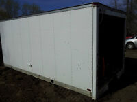 16 FT CUBE VAN BOX STORAGE SITE OFFICE EASY LOAD MOVE>