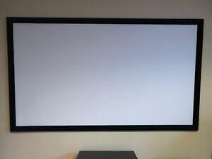Écran de projection fixe de 80 pouces
