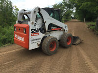 Bobcat operator to help with a job