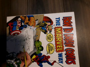 How to Draw Marvel Comics Art Book