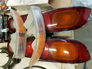 Acura Integra OEM Rear Tail Lights and Front Bumper Lights