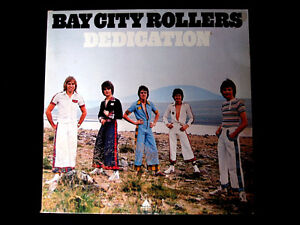 BAY CITY ROLLERS Dedications  original  LP Record