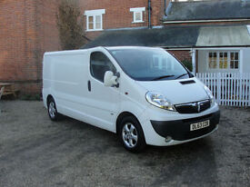 2013(63) VAUXHALL VIVARO CDTI SPORTIVE LWB - NO DEP FINANCE FROM £180 A MONTH