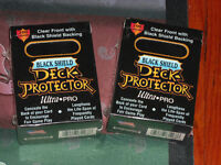 1996 Black Shield Deck-Protector 100 sleeves Ultra Pro for MtG