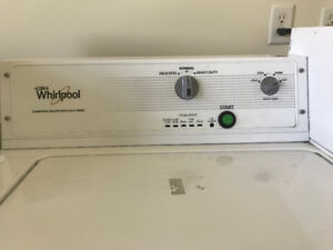 Commercial Washer and Dryers -- Maytag/Whirlpool